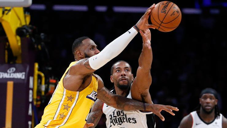 Derbide Los Angeles Clippers, Los Angeles Lakers'ı yine yendi