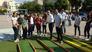 Erdek'e mini golf sahası