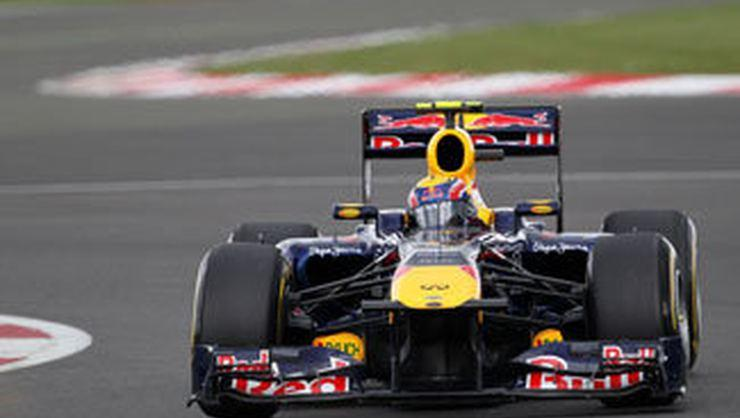 Pole pozisyon Mark Webber'in
