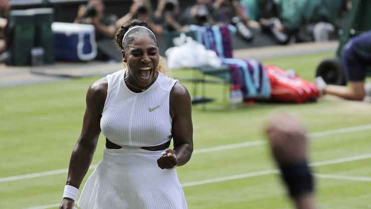 Serena Williams finalde!