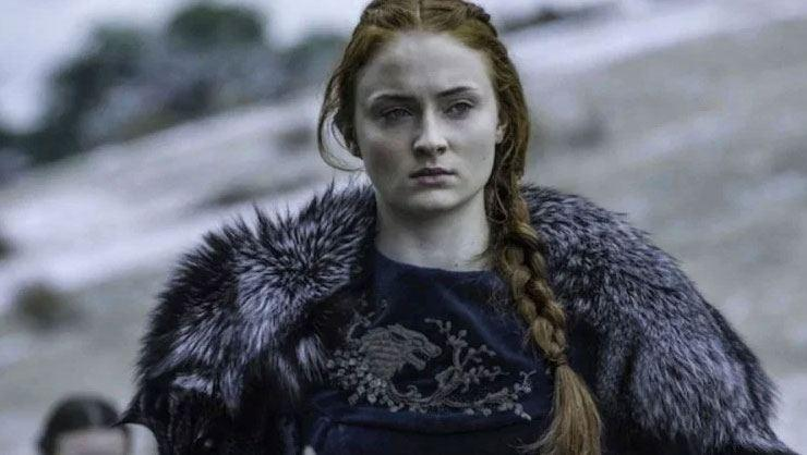 Game of Thrones dizisinin Sansa Stark'ı Sophie Turner hamile